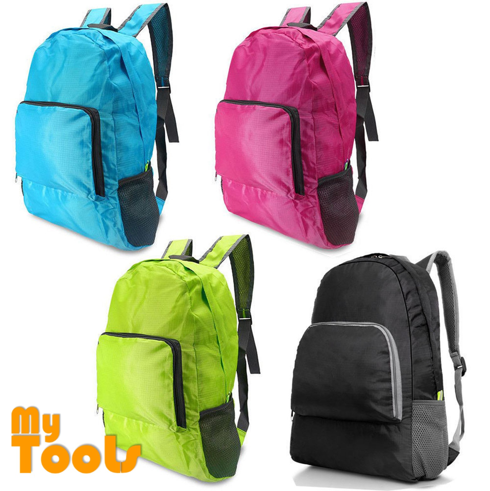 Mytools Foldable Waterproof Lightweight Nylon Travel Backpack