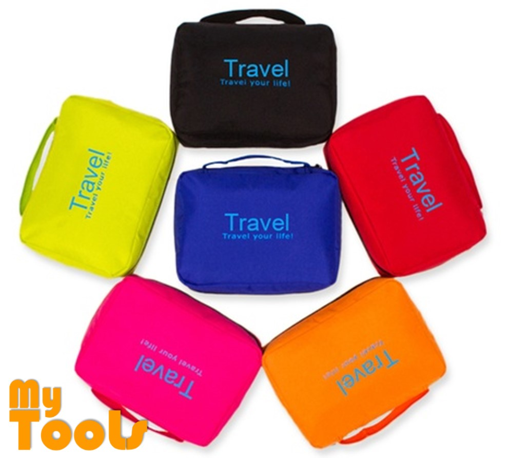 Mytools Travel Portable Wash Cosmetic Bag Makeup Pouch Toiletry Organizer