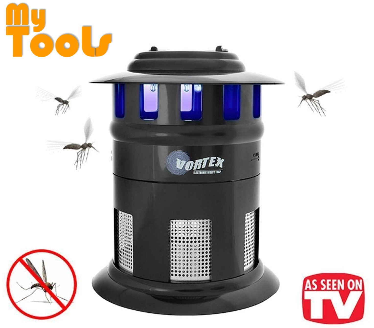 Mytools Vortex UV LED Mosquito Killer Insect Trap Bugs Catcher