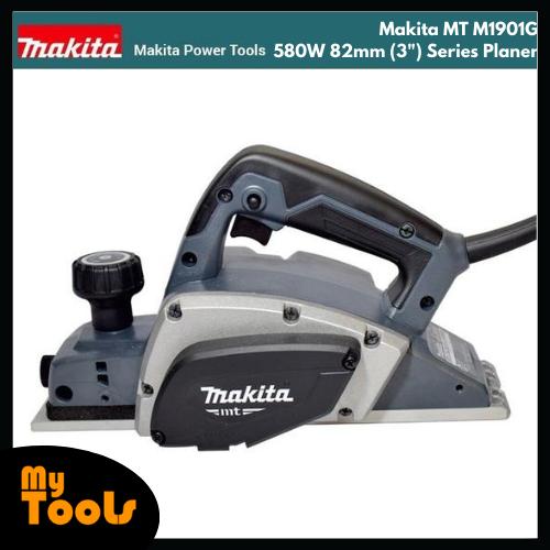"Makita MT M1901G 580W 82mm (3"") Series Planer"