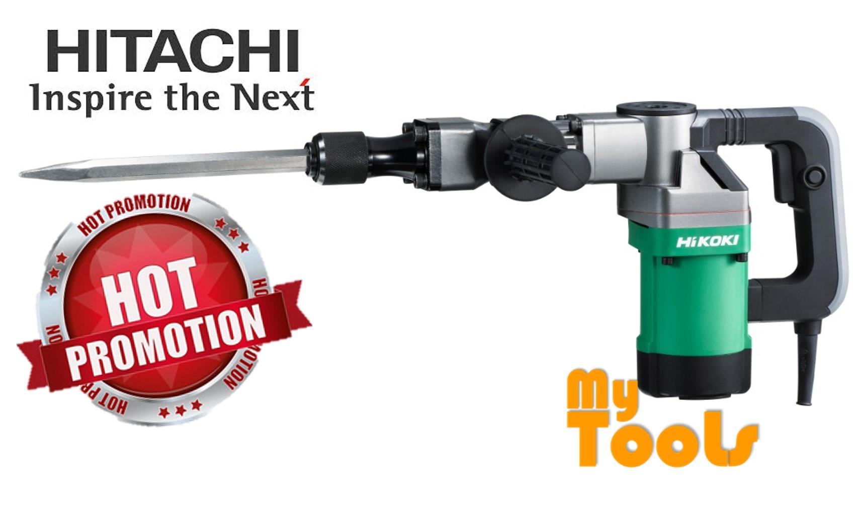 [Limited Time Offer] Hitachi Hikoki H41 SST 950W 17mm Hex Demolition Hammer FREE 2 Bullpoint Chilsei