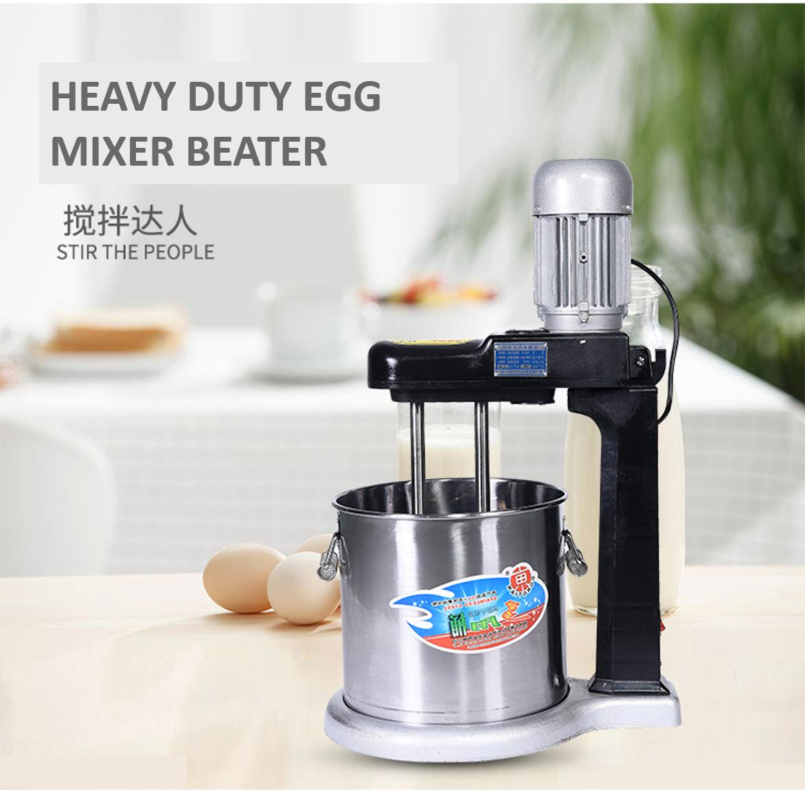 Mytools Heavy Duty 15L Induction Motor Double Beater Egg Mixer