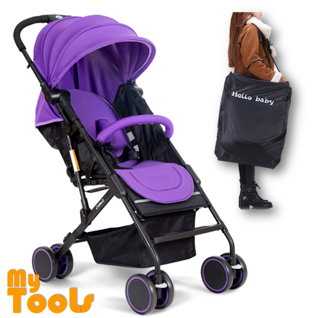 Mytools Super Light Compact Air Planes Size One Button Stroller FOC Travel Bag