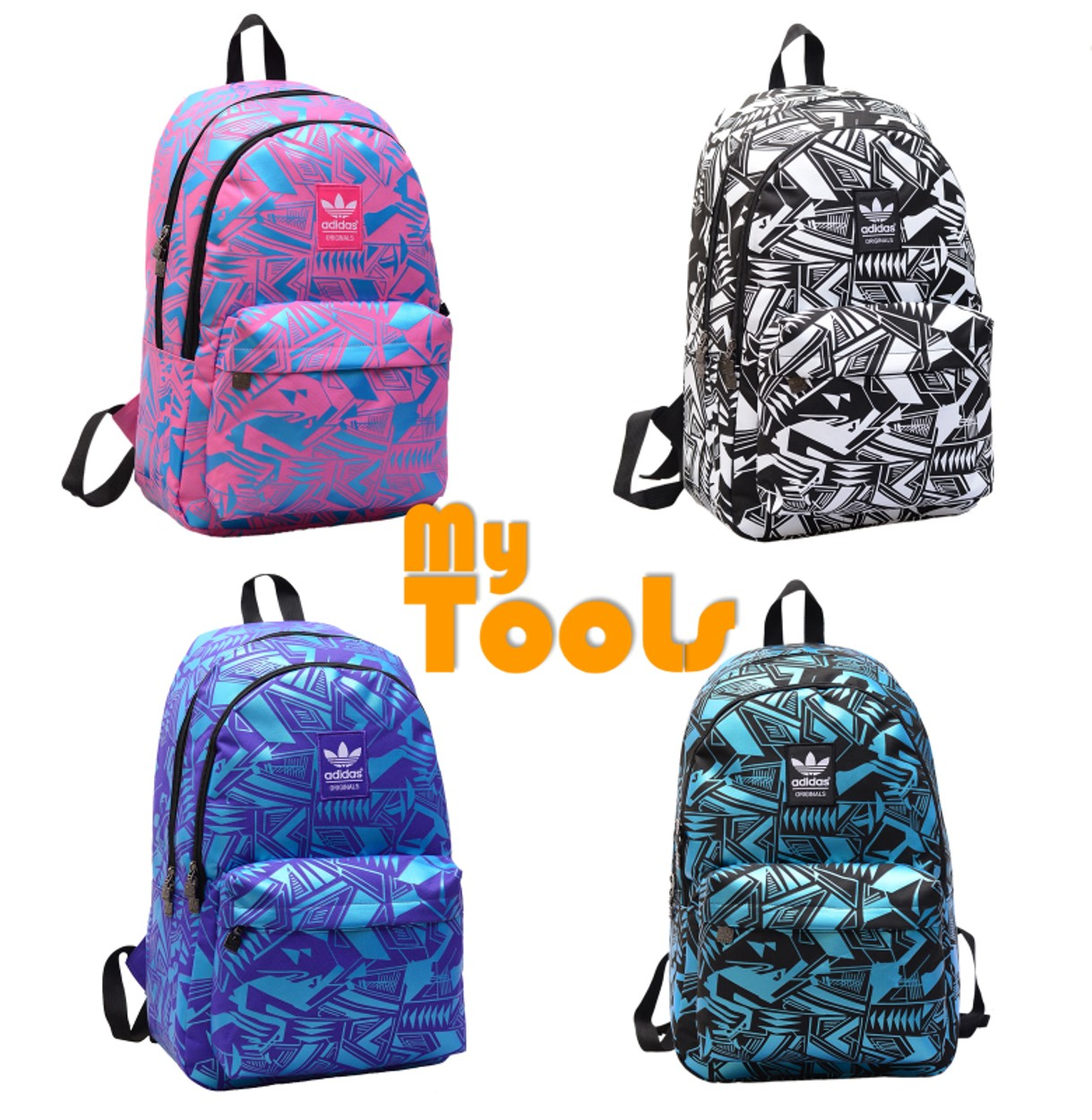 Adidas Stylish Graphic Fashion Sport Travel School Backpack Bag