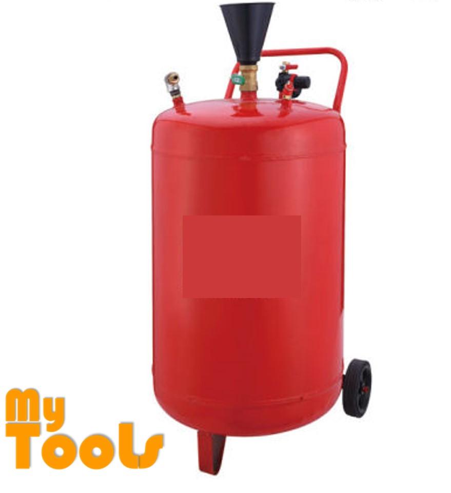 Mytools 70L Red Steel Snow Wash Tank