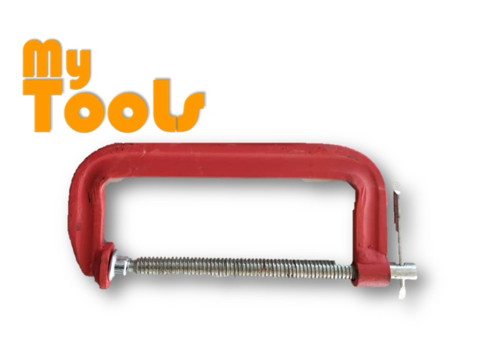 "Heavy Duty G Clamp 4"" (100mm) with T-Handle"
