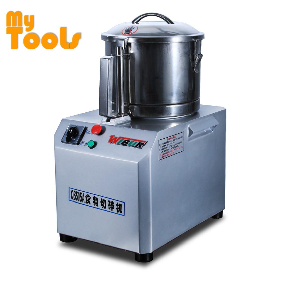 Mytools QS-505 Electric Universal Fritter Heavy Duty Blender Meat Chopper Machine Mincer Grinder