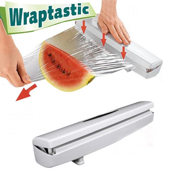Wraptastic Dispenser Wrap Wraper Food Fruit Vegetable & Meat