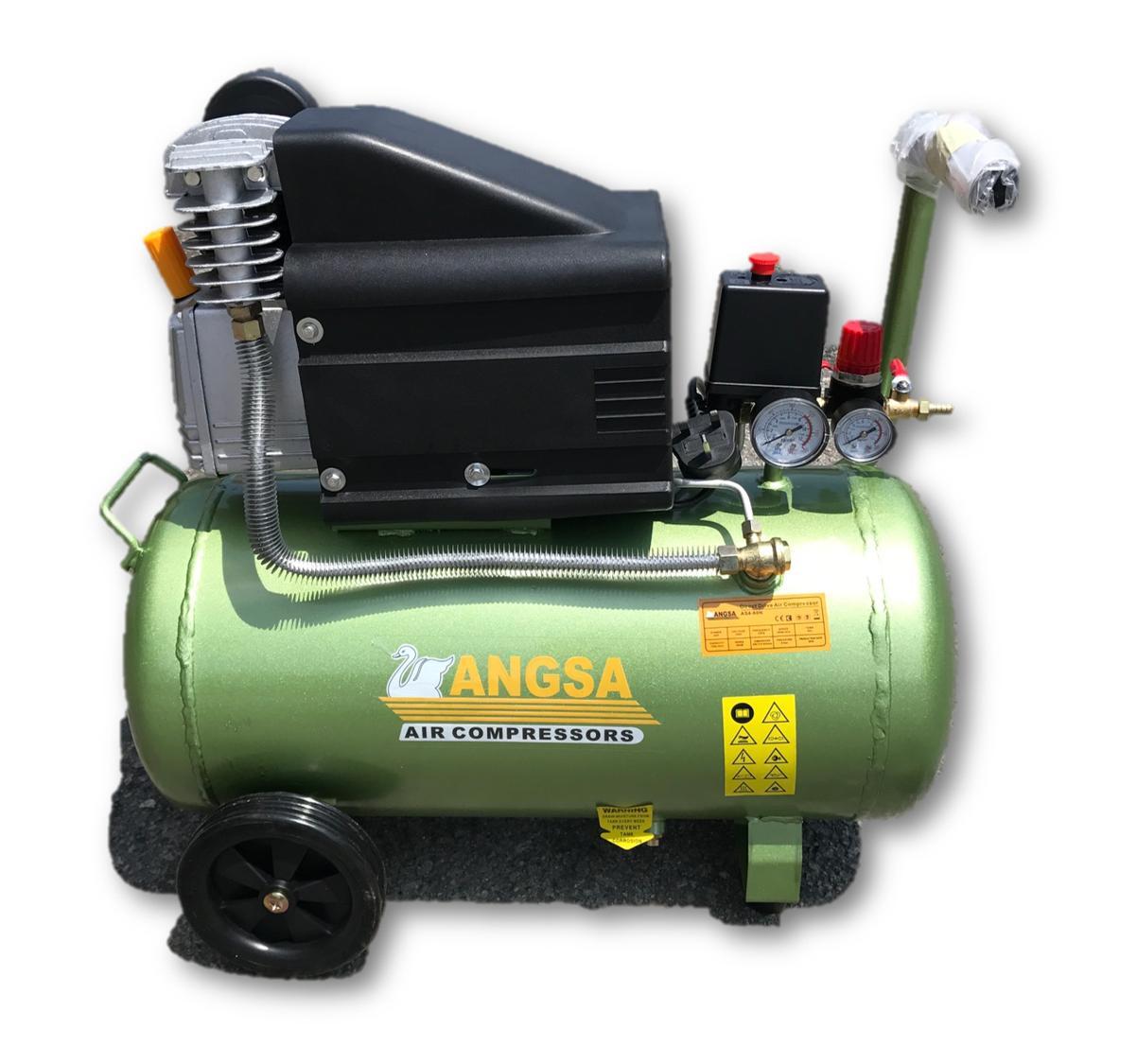 Angsa AS4-60N 4.0HP 60Liter Direct Driven Air Compressor (Taiwan)