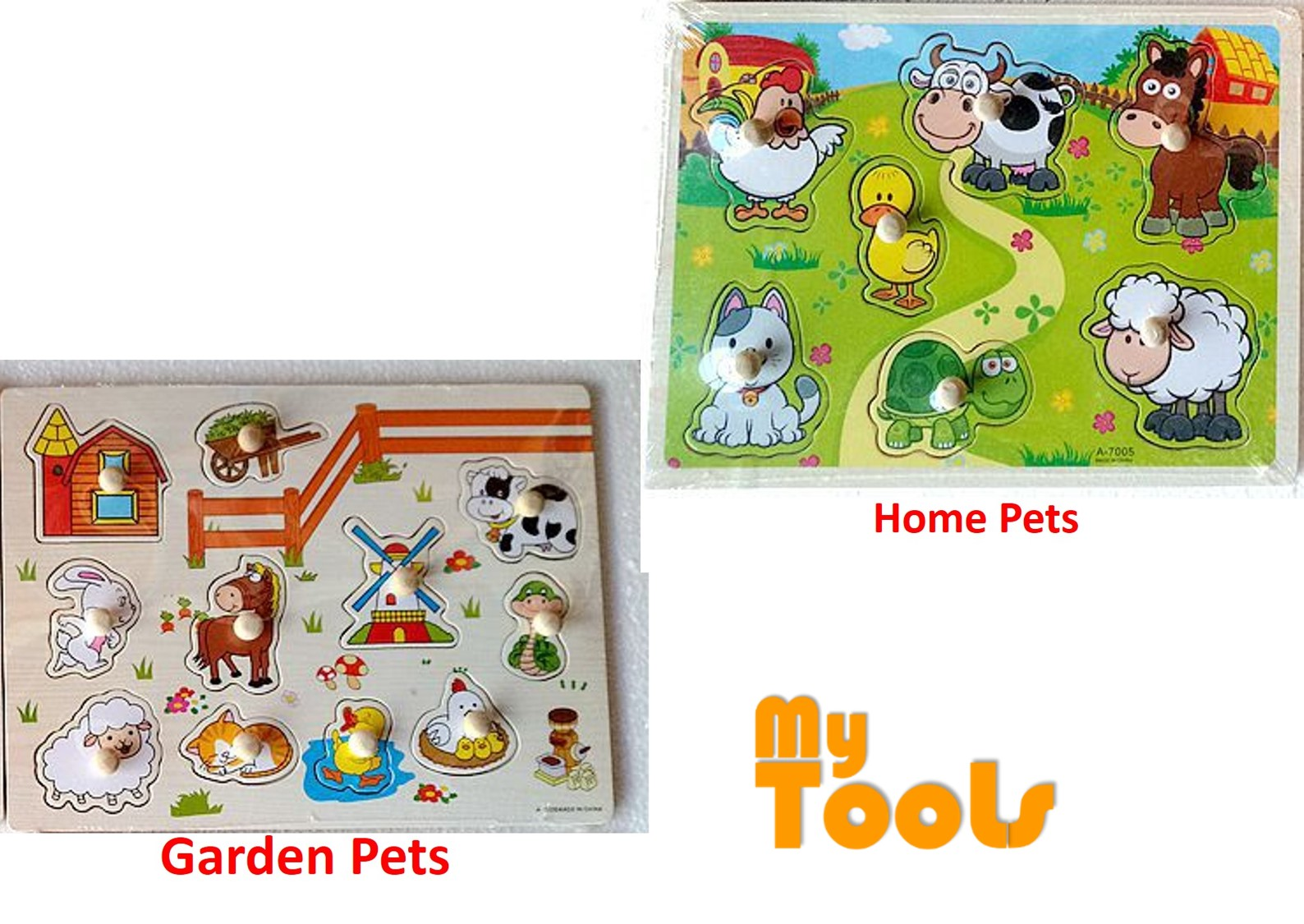 Mytools Wooden Jigsaw Puzzle Early Learning Kids Education