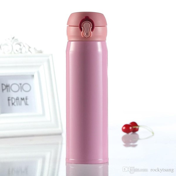 Mytools 500ml 304 Stanless Steel Vacuum Thermo Thermos Insulation Flask Beverage Bottle