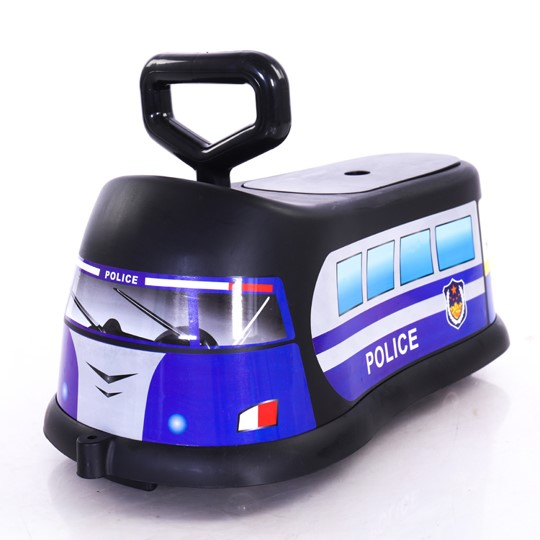 Mytools Kid Riding Scooter Push Ride On Car Kids Toddle Walker Toys Container Horn 360 Degree Wheel Police FireFighter