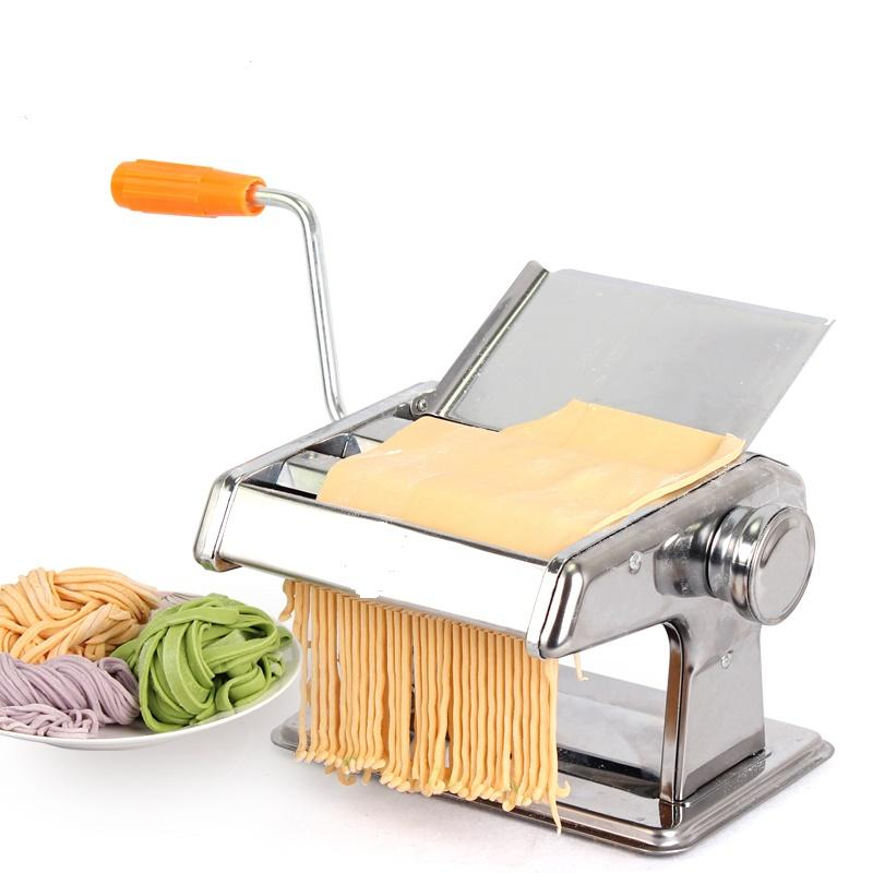 High Quality Stainless Steel Manual Noodle Pasta Maker Machine Homemade Household