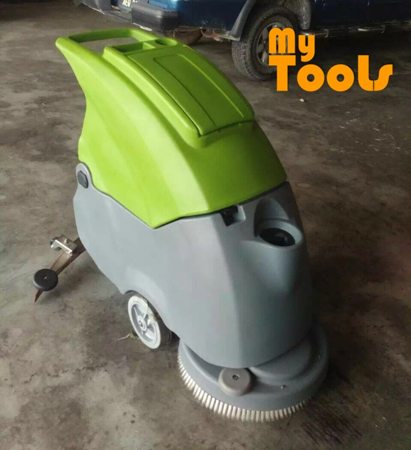 Mytools Hand Push Automatic Floor Scrubber Washing Machine