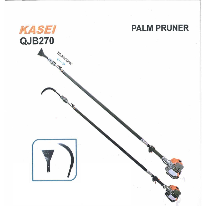 Kasei QJB270 Petrol Garden tools Telescopic Oil Palm Tree Pruner Pole Saw
