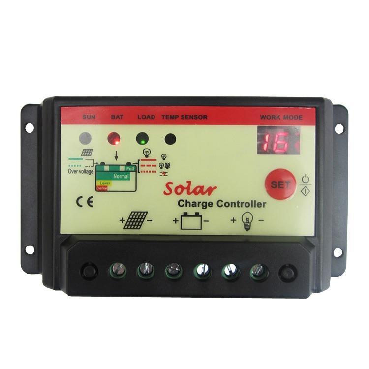Solar Charge Controller / Solar Receiver 20A 12V/24V Battery Regulator Charger