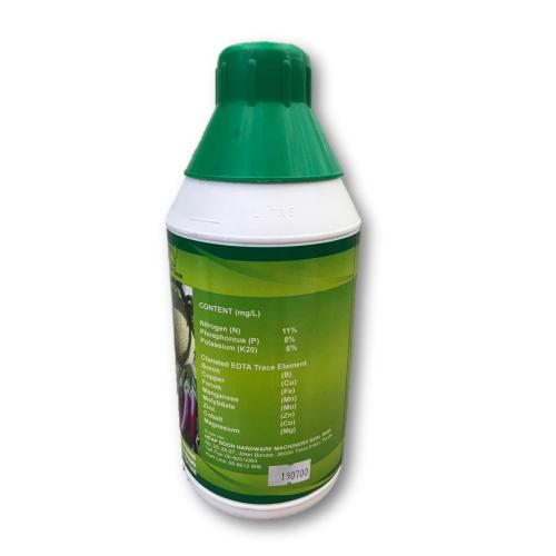 1L Plant Booster Foliar Fertilizer SUPER N EDTA NPK / Baja Larutan Air 11 : 8 : 6 (Formulation from