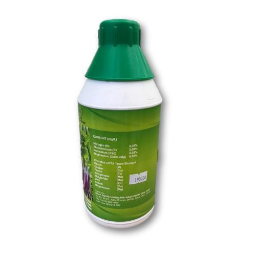 1L Plant Booster Foliar Fertilizer EDTA NPK / Baja Larutan Air (Formulation from France)