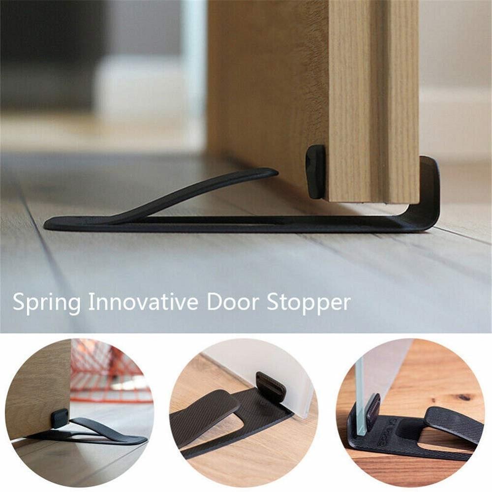 Mytools Spring Innovative Door Stopper Door Wedge Holder Home Doorstop Wall Floor Protector