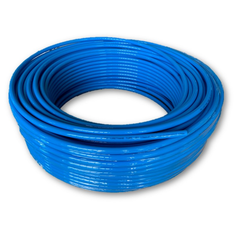 Mytools 100 Meter 10mm x 7.5mm Pneumatic Polyurethane PU Air Compressor Hose Tube Blue