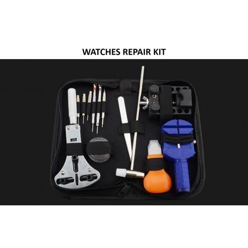 WATCHES & CLOCK REPAIR TOOL KIT