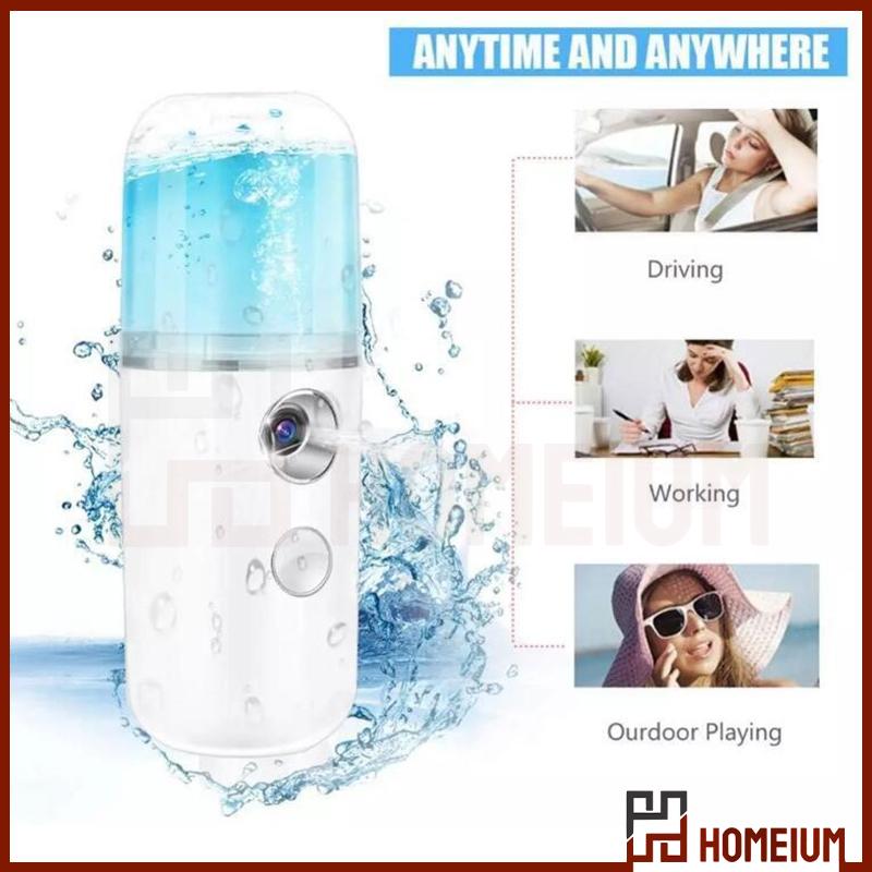 Mytools Nano Mist Spray 30ml USB Handy Atomization Mister Face Facial Moisturizing Mist Sprayer