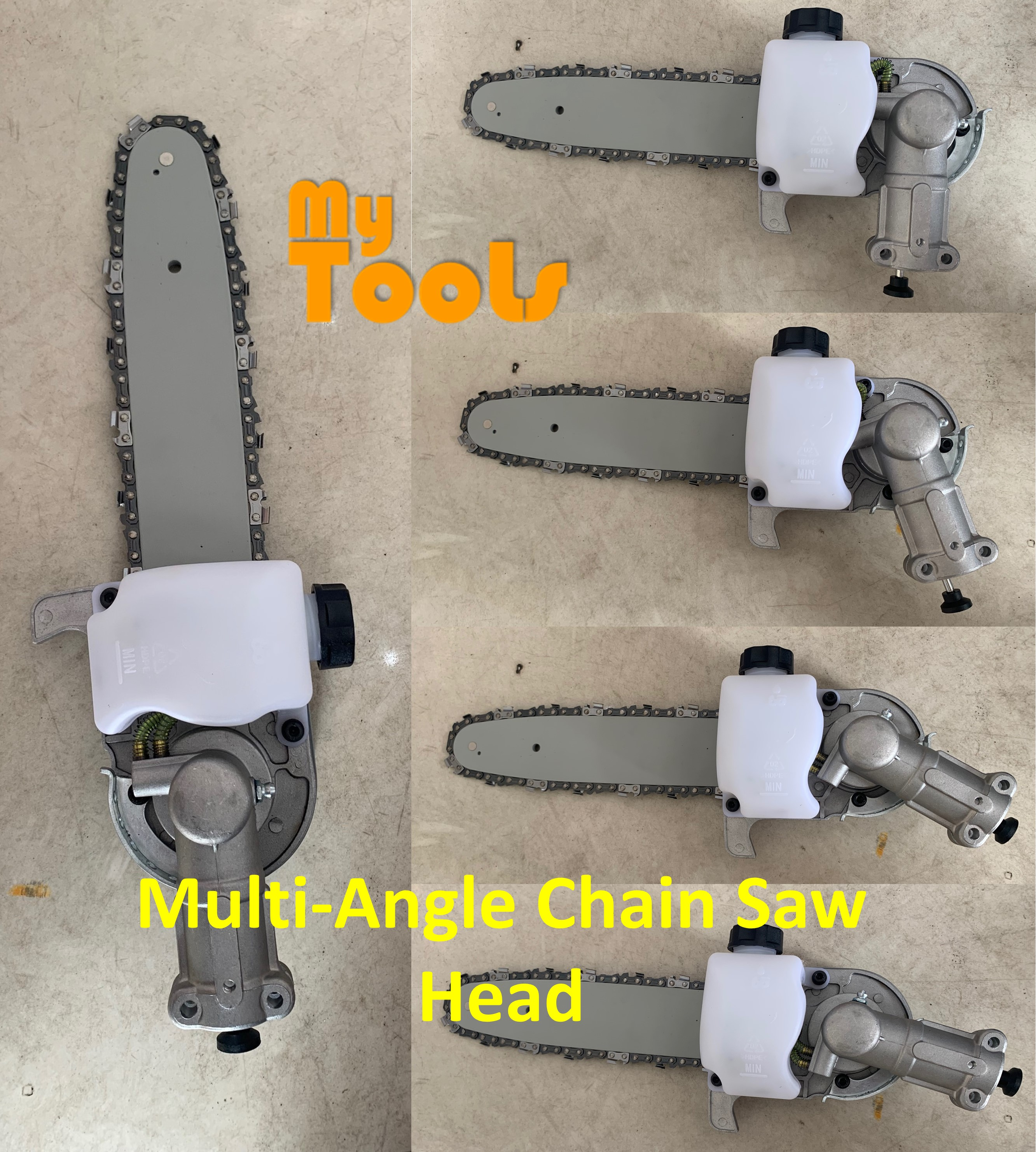 Mytools Multi-Angle Chainsaw Gearbox Chain Saw Gear Head Brush Cutter Attachment