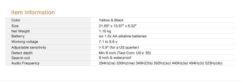 Mytools Underground Metal Detector MD301011 High Sensitivity LCD Display Treasure Gold Hunter Finder Scanner