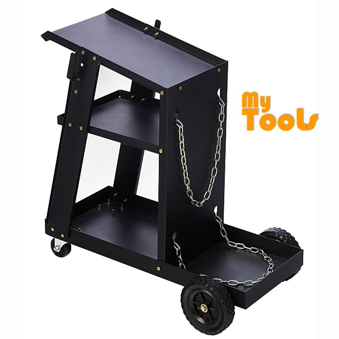Mytools Welding Machine Trolley Set For MIG TIG ARC PLASMA CUTTER