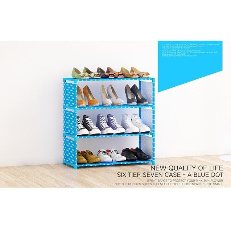 Korean Premium Quality 4 Tier SK-4 DIY Shoe Rack