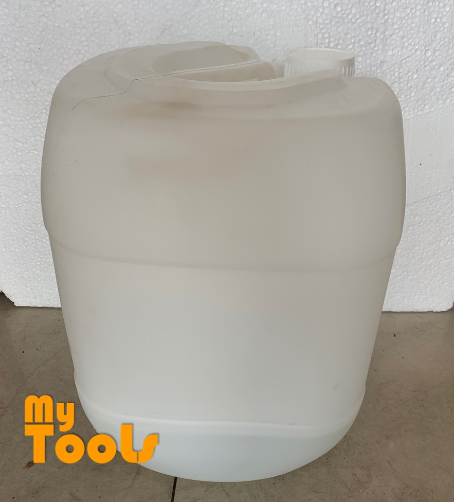 Mytools 20 Little 20L New Empty Plastic Container Jelly Can Bottle Drum With Screw Cap Tong Air