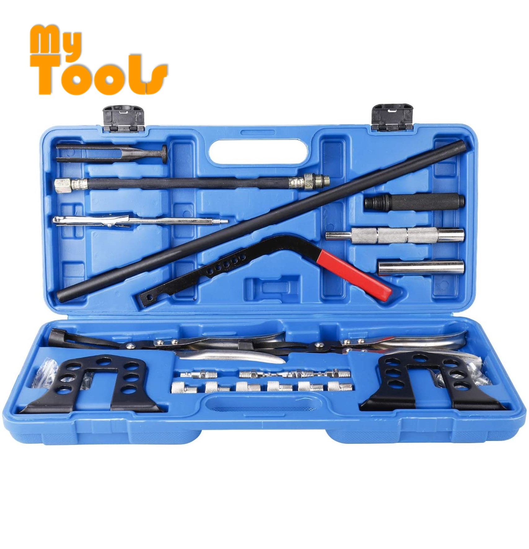 Mytools Valve Spring Compressor Universal Car Engine Overhead Stem Seal Remover Installer Tool Kit