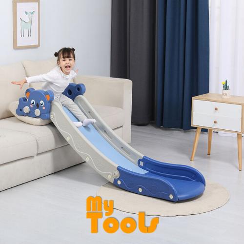 Mytools Children Indoor Slide Toy Along Sofa/Bed/Stairway Foldable Plastic (Little Bear Design)