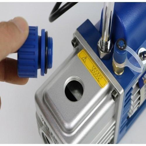 VALUE Single Stage Vacuum Pump 2CFM 2Pa 150W (Heavy Duty) Hose & Gauge Included