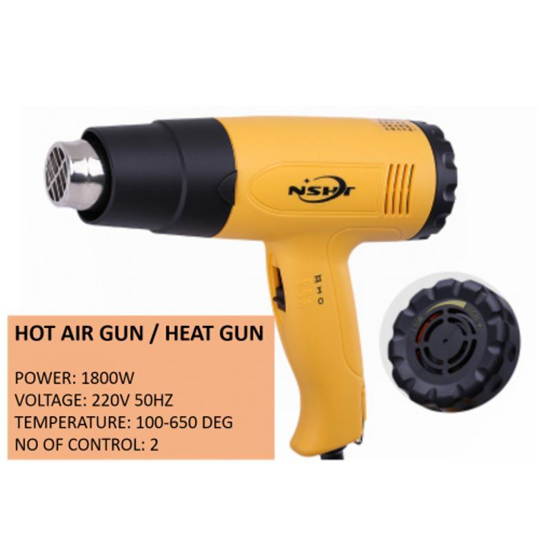Hot Air Gun / Heat Gun 1800W With 2 Speed and Varies Heat Control
