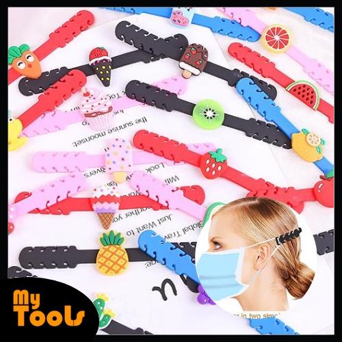 Mytools 1 Pcs / 5 Pcs Adjustable Silicone Face Mask Hook Hanger Adult Kids Tudung Hijab Sarung Penyangkut Topeng Muka