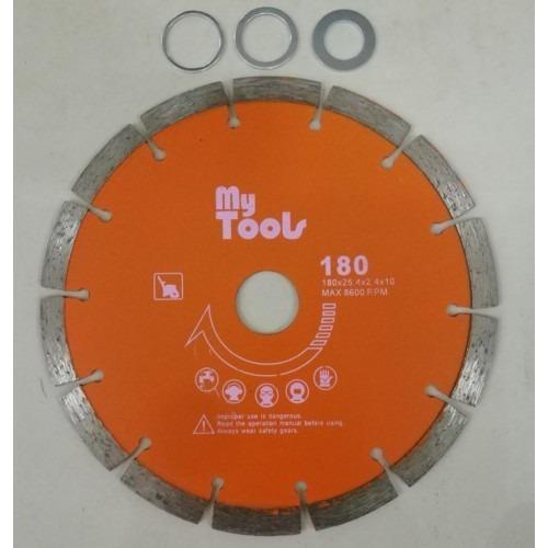 "Mytools 7"" Diamond Wheel / Concrete Cutting Disc / Piling Wheel (Heavy Duty)"