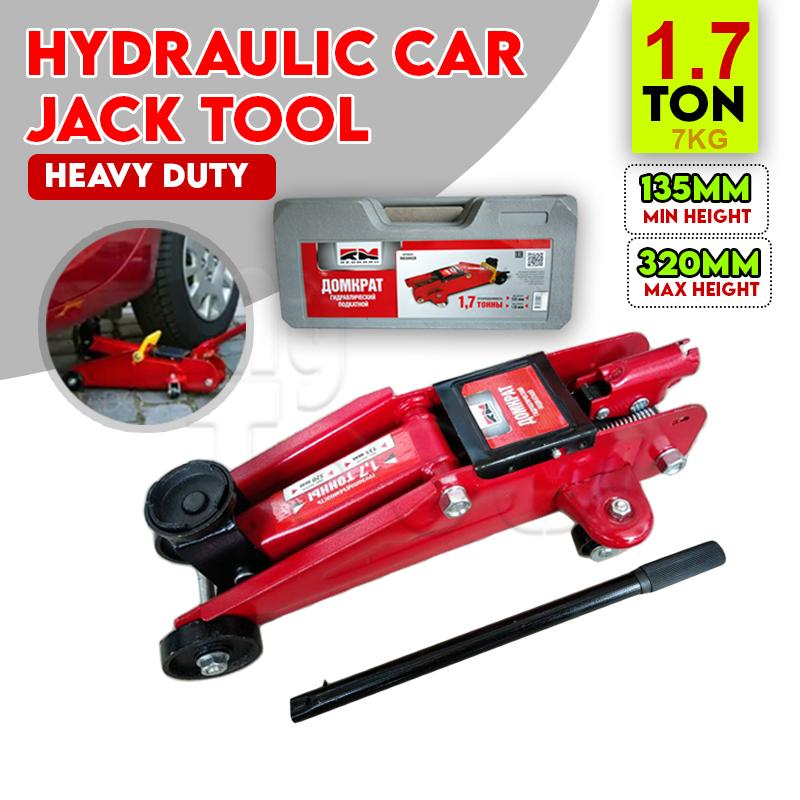 (READY STOCK) Mytools 1.7 Ton Hydraulic Floor Jack with PVC Box