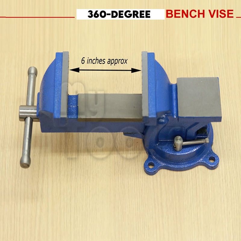 """6"""" Swivel Bench Vice Vise Bench Vice Clamp Clamping Tools"""
