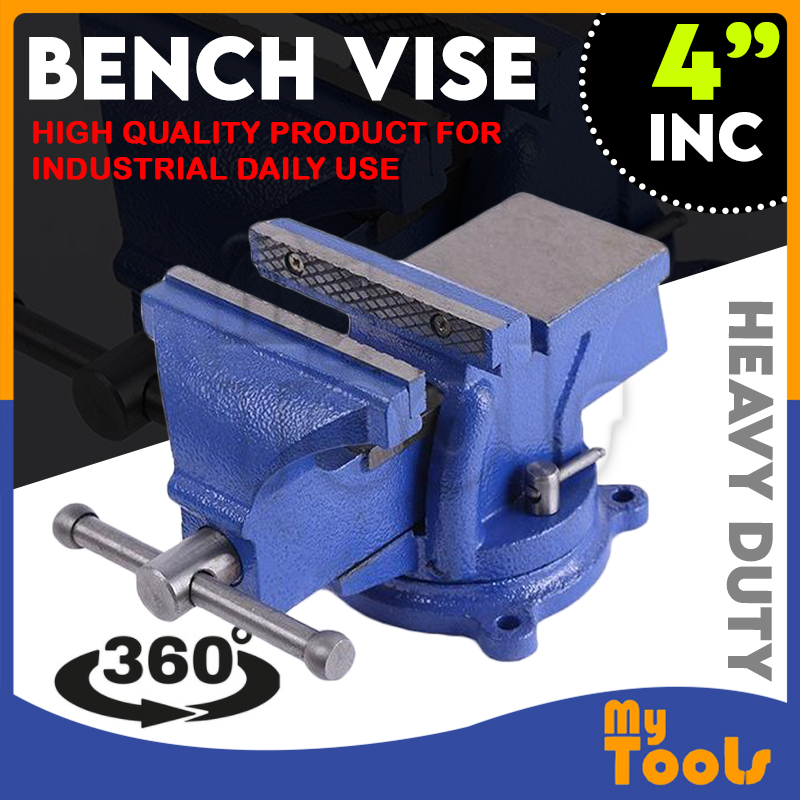 4 Swivel Bench Vice Vise Bench Vice Clamp Clamping Tools