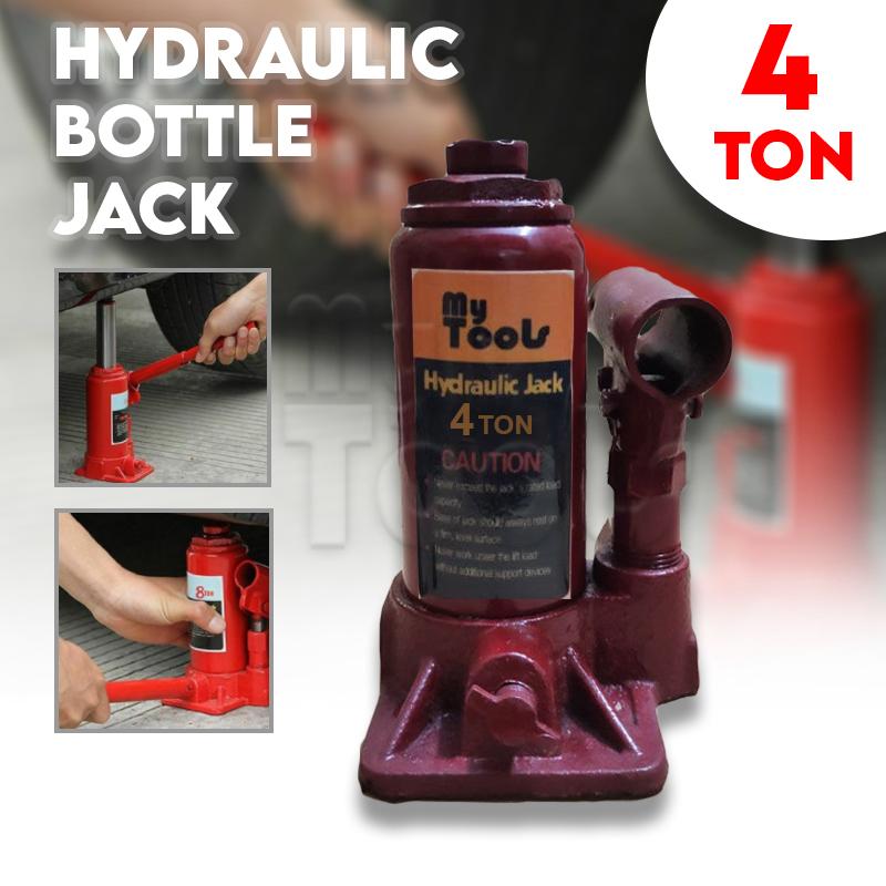 4Ton Heavy Duty Hydraulic Bottle Jack