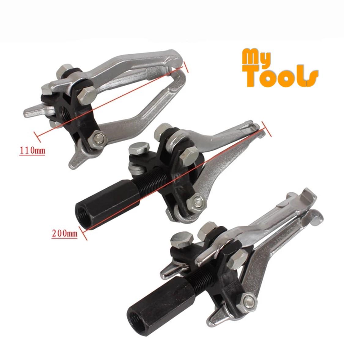 Mytools 3 Jaw Internal External Bearing Puller Tool Set Inner Hole Puller Small Bearing Puller Bearing Remover Repair Tensioner