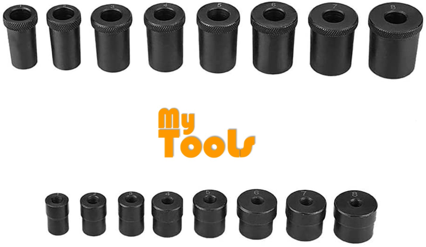 Mytools 17pc Universal Clutch Aligning Kit Flywheel Pilot Hole and Clutch Drive Plate Alignment Tool