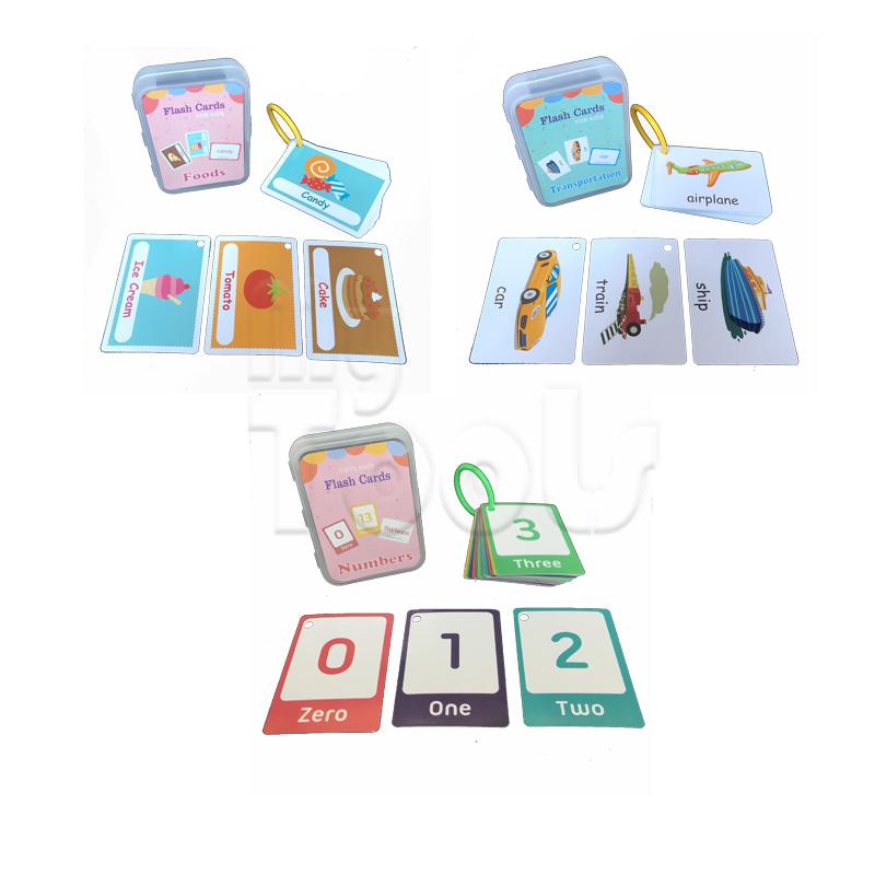 Early Learning Flash Card Kad Animal Shape Colour Body Number Alphabet Fruit Weather Imbasan Budak Kids Education Card