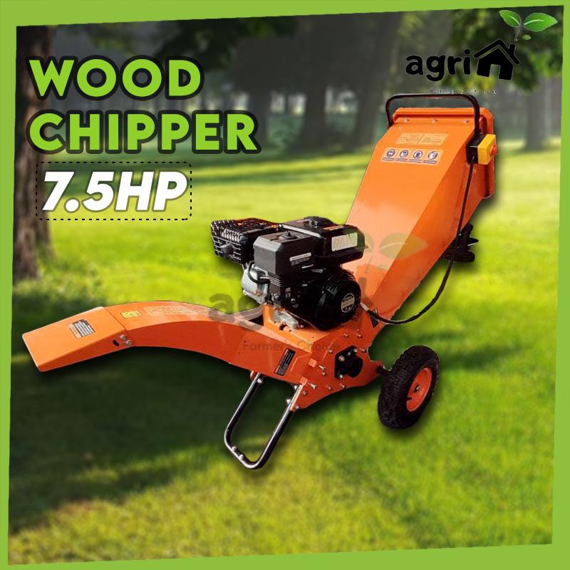 Mytools Heavy Duty 7.5HP Wood Chipper Grass Shredder Chopper Machine Tree Branch Grinder