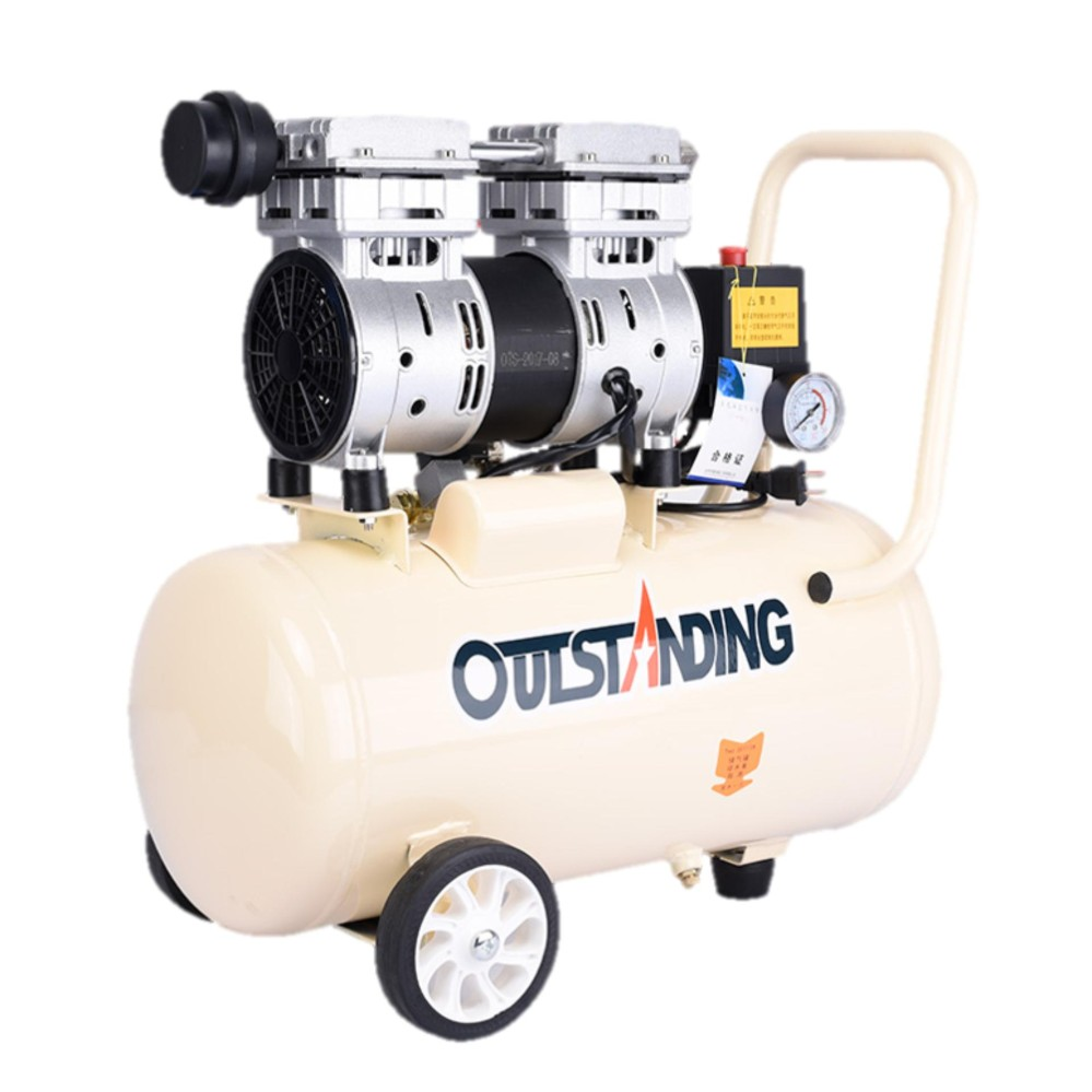 Outstanding Oil Free Ultra Silent Portable Oiless Air Compressor 550W 18L Tank