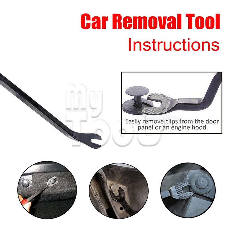 Mytools 4PCS Car Door & Trim Removal Service Bodyshop Garage Tool Kit
