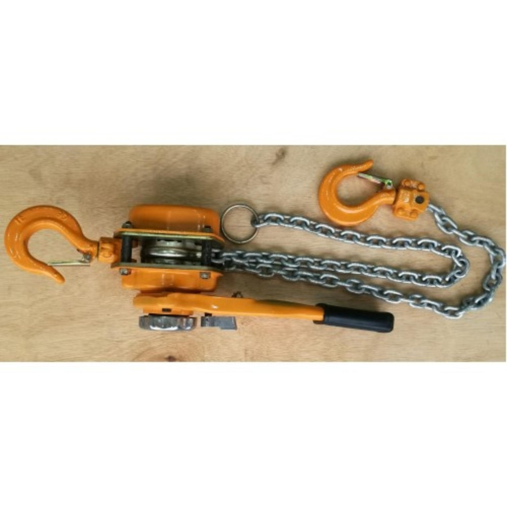Himitzu (Japan) 0.75Ton x 1.5M Industrial Heavy Duty Chain Lever Block