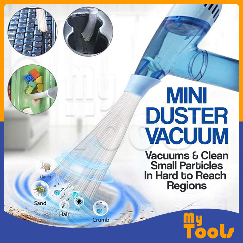 (Malaysia Ready Stock) Handheld Portable Cordless Duster Mini Vacuum Dust Cleaner Dirt Remover for Home