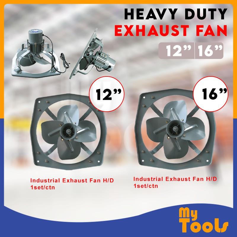 Mytools Wall Type Industrial Heavy Duty Exhaust Fan 12Inch , 16Inch